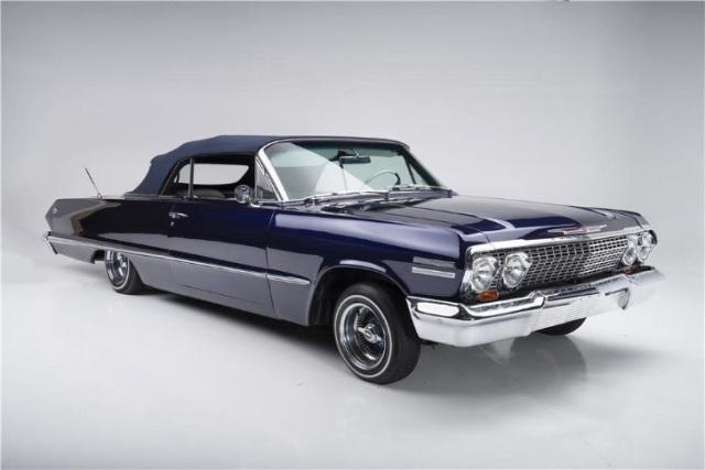 Bryant Car Stereo >> Kobe Bryant's former 1963 Chevrolet Impala Lowrider is up ...