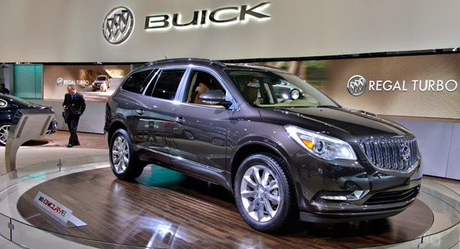 Buick Enclave Interior >> 2015 Buick Enclave Revamped! | Shaw GMC Chevrolet Buick