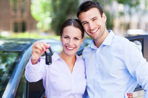 happy car customers